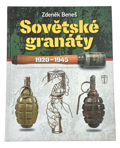 Book Soviet Russian Hand & Rifle Grenades 1920 - 1945 WW2 WWII Red Army F1 Rg42