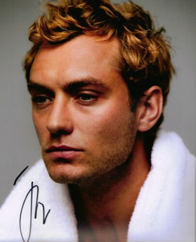 Jude Law Autograph Signed 10X8 Photo (5582)