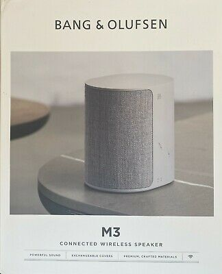 Grey Bang & Olufsen B&O Beoplay M3 Connected Wireless Speaker...