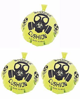"""3  PACK 17"""" MEGA WHOOPEE CUSHION, GIANT FARTS, PARTY TOY GOODY BAGS TREAT HUGE"""