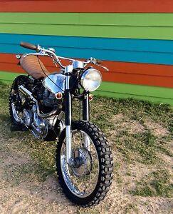 Vintage Motocross, Scrambler, Royal Enfield Bullet 5 Speed Melton Melton Area Preview
