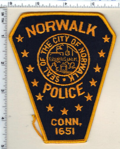 Norwalk Police (Connecticut) Shoulder Patch - new from 1993