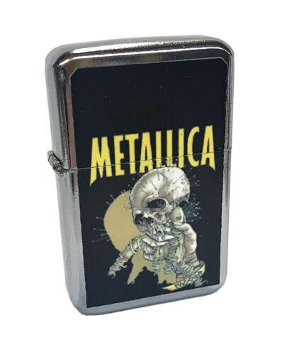 metallica heavy metal rock band flip top