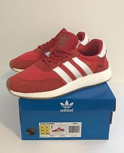 Adidas Iniki Boost size 9.5 Red - Brand New - Yeezy NMD Boost