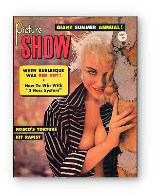 PICTURE SHOW Margie Moran VTG PINUP MAGAZINE Summer Annual 1959 HOT Retro 125699 - $15.00