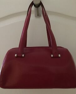 Purse-Red-Danier Leather-Never used