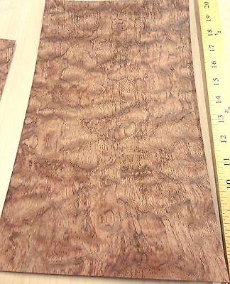 Waterfall Bubinga Figured Kewazinga Wood Veneer 8 X 14 Raw No Backing 132