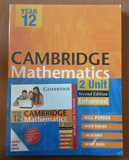 Cambridge HSC Year 12 Maths 2 Unit E-codes 2nd Edition NEW Pender
