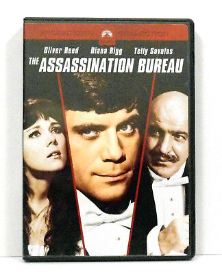 The Assassination Bureau DVD 2004 Widescreen Collection Oliver Reed Diana Rigg