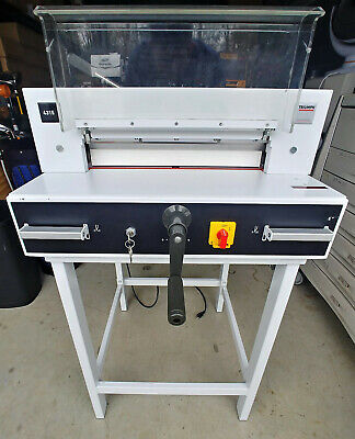 Triumph Ideal 4315 Mbm Ideal Electric Semi-automatic Paper Cutter