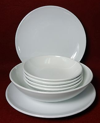 Fruit Coupe Cereal Bowl (CORNING Pyroceram WHITE COUPE pattern 7-Piece Lot 2 bread 4 fruit 1 cereal bowl )