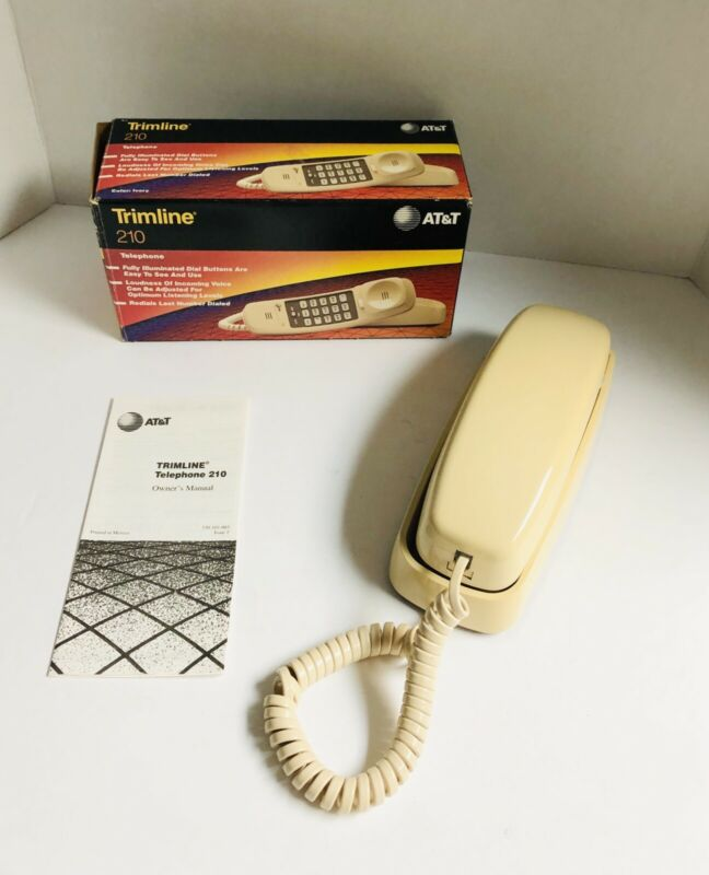 AT&T 210 Basic Trimline Corded Phone_US STOCK