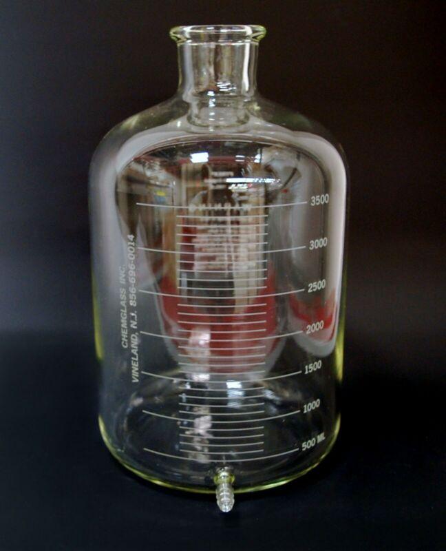 Corning 1585-4000 4000mL 4L Bottle Aspirating