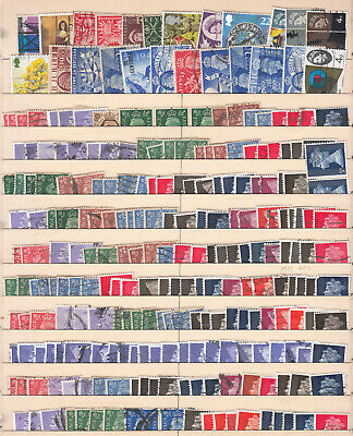 Great Britain - small stamp lot-3