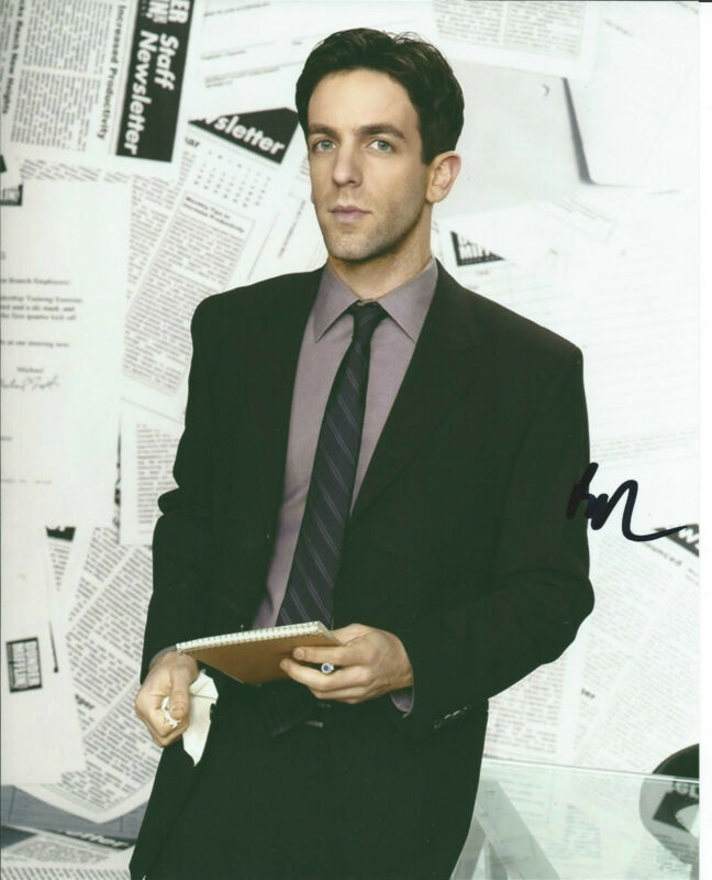 **GFA The Office-Ryan *BJ NOVAK* Signed 8x10 Photo B1 COA**