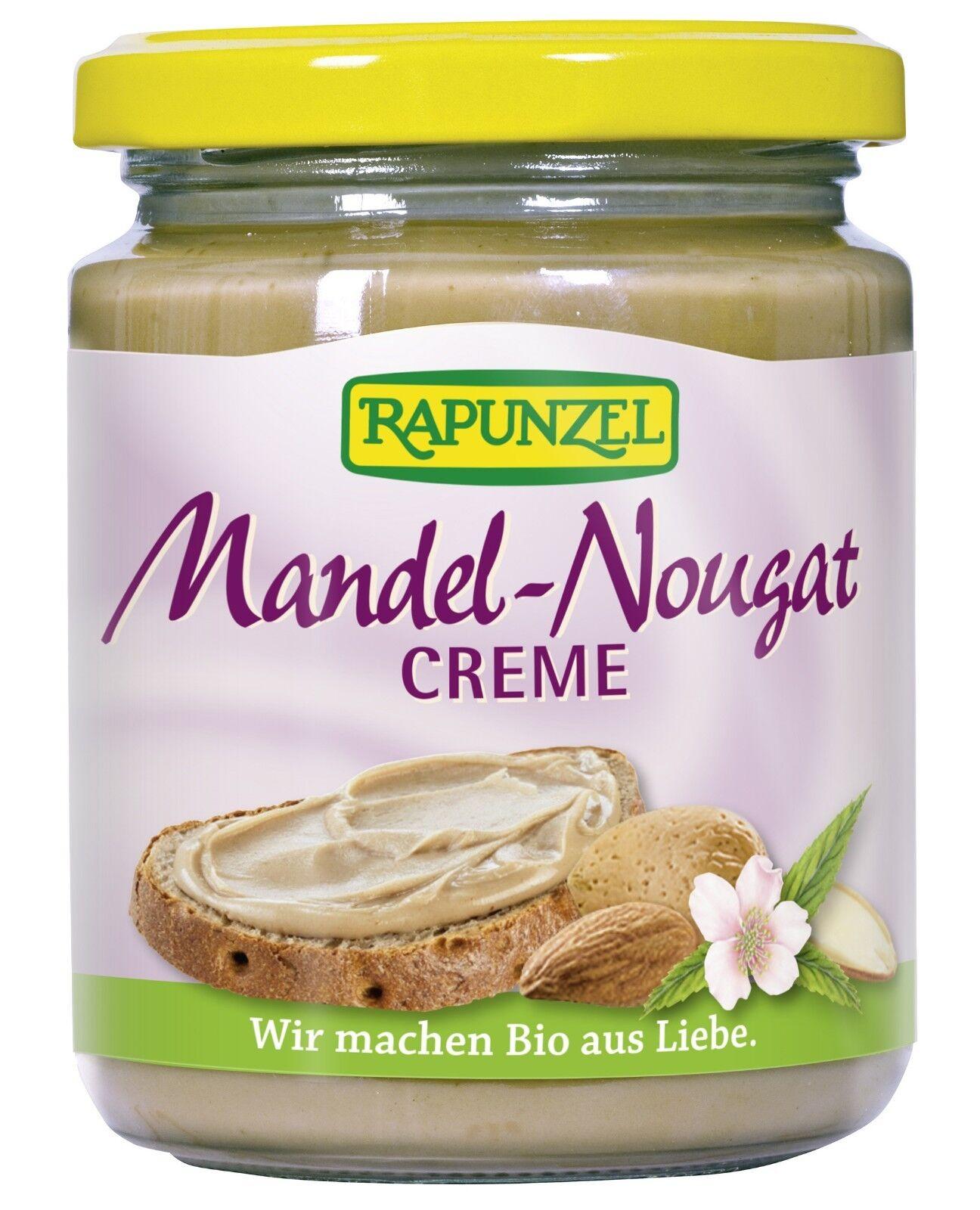 RAPUNZEL Mandel-Nougat-Creme, 250g BIO aus Liebe  (MHD beachten)