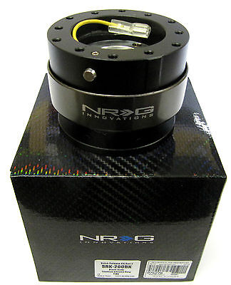 NRG BALL LOCK QUICK RELEASE HUB STEERING WHEEL HUB NRG SRK -200BK