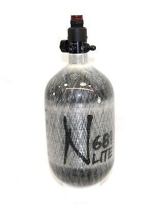 Ninja 68/4500 LITE Nitrogen Grey Ghost Carbon Paintball Compressed Air Tank