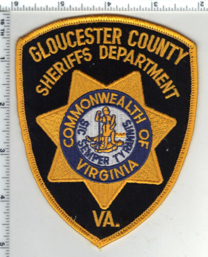 Gloucester County Sheriff (Virginia) 3rd Issue Uniform Take-Off Shoulder Patch