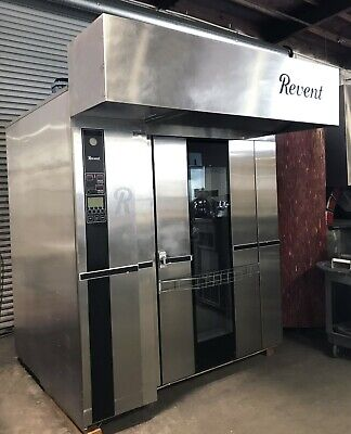 Revent 724 Double Rack Oven Natural Gas 90 Day Parts Labor Guarantee