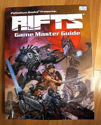 Rifts Game Master Guide Palladium Siembieda new