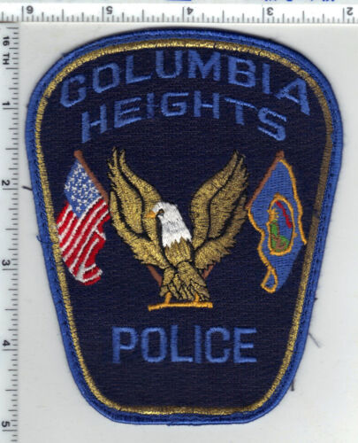 Columbia Heights Police (Minnesota) Uniform Take-Off Shoulder Patch from 1980