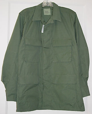 OD Green Enhanced Hot Weather Camouflage Coat, Small Regular