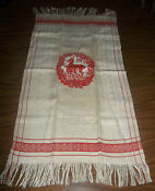 Vintage Fringed Towel