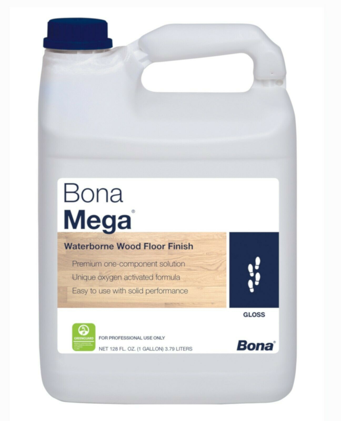Bona Mega Wood Floor Finish Gloss - 1 Gallon