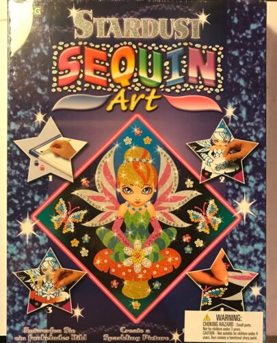 Stardust Sequin Art (new and sealed)