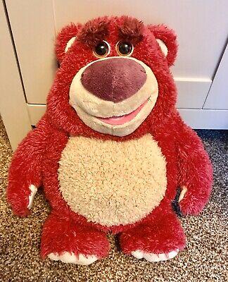Disney Toy Story 'Lotso O Huggin' Talking Interactive Pink Bear Soft Plush 💕