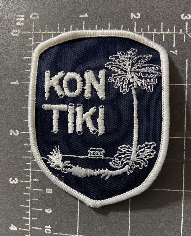 Kon Tiki Patch Kon-Tiki Expedition Raft Norwegian Explorer Polynesian Islands HI