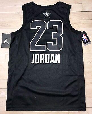 NIKE MICHAEL JORDAN LA LOS ANGELES NBA ALL STAR GAME JERSEY 23 928873-023  MEDIUM a0297bd47