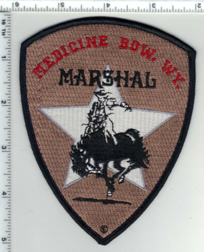Medicine Bow Marshal (Wyoming) 2nd Issue Shoulder Patch