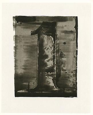 "Jasper Johns ""Figure 1"" 1968"