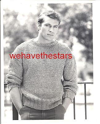 Vintage Jon-Erik Hexum QUITE HANDSOME SEXY '84 TV Publicity Portrait TRAGIC STAR