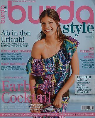 BURDA STYLE - 04/2010 + Schnittmuster - Plusmode Kleider Sportliche Mode Heft