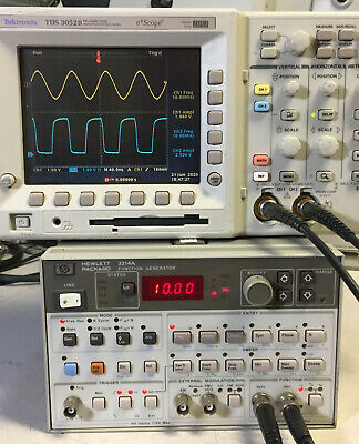 Hp - Agilent - Keysight 3314a Programmable Multi-waveform Function Generator