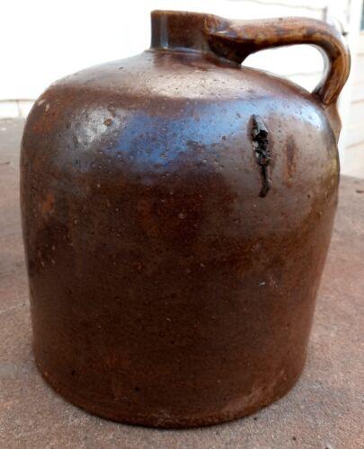 Antique Moonshine or Whiskey Jug Antique Stoneware Crock