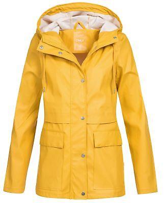Only Damen Regenjacke Train Short Wind Jacket wasserabweisend Frauen Übergang (Regen Jacke Frauen)