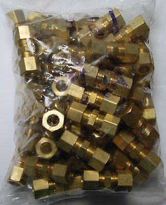 Brass Fitting: Lead Free Compression Union Tube OD 3/8