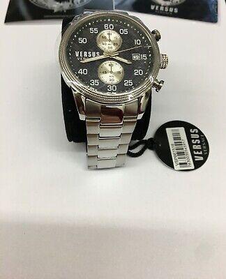 New Original Versace Versus Men's Watch Stainless Steel Date VSP661518