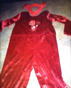 Little devil kids costume $5 fits up to 4T