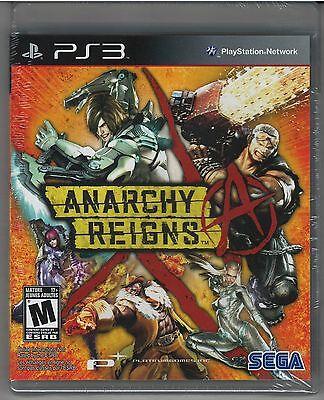 Anarchy Reigns (Sony PlayStation 3, 2013) *NEW*