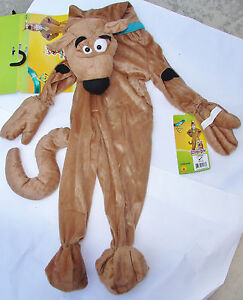 Scooby Doo Costume Dog Sz Toddler 2 - 4  Full Body Girl Boy NEW Age 1 - 2 Year