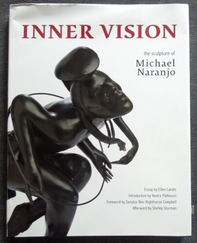 *SIGNED *Book MICHAEL NARANJO Inner Vision: The Sculpture *HC D/J *FREE SHIPPING