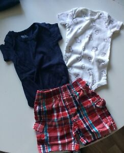 Boys 0-3months Summer Clothes  *New Price*