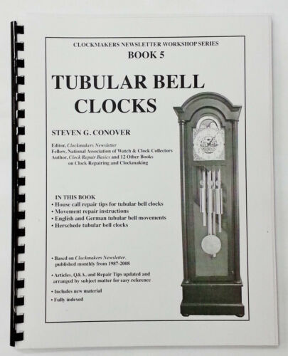 NEW Tubular Bell Clocks by Steven Conover - Herschede, German & English (BK-131)