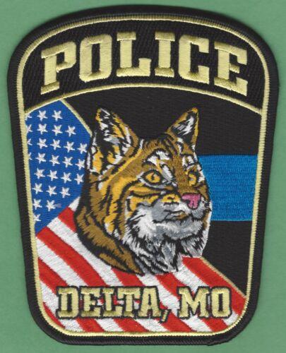 DELTA MISSOURI POLICE SHOULDER PATCH