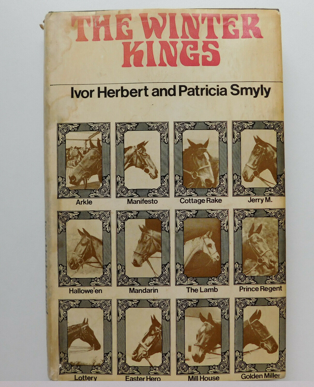 The Winter Kings book about horse racing history of steeplechasing Herbert Smyly